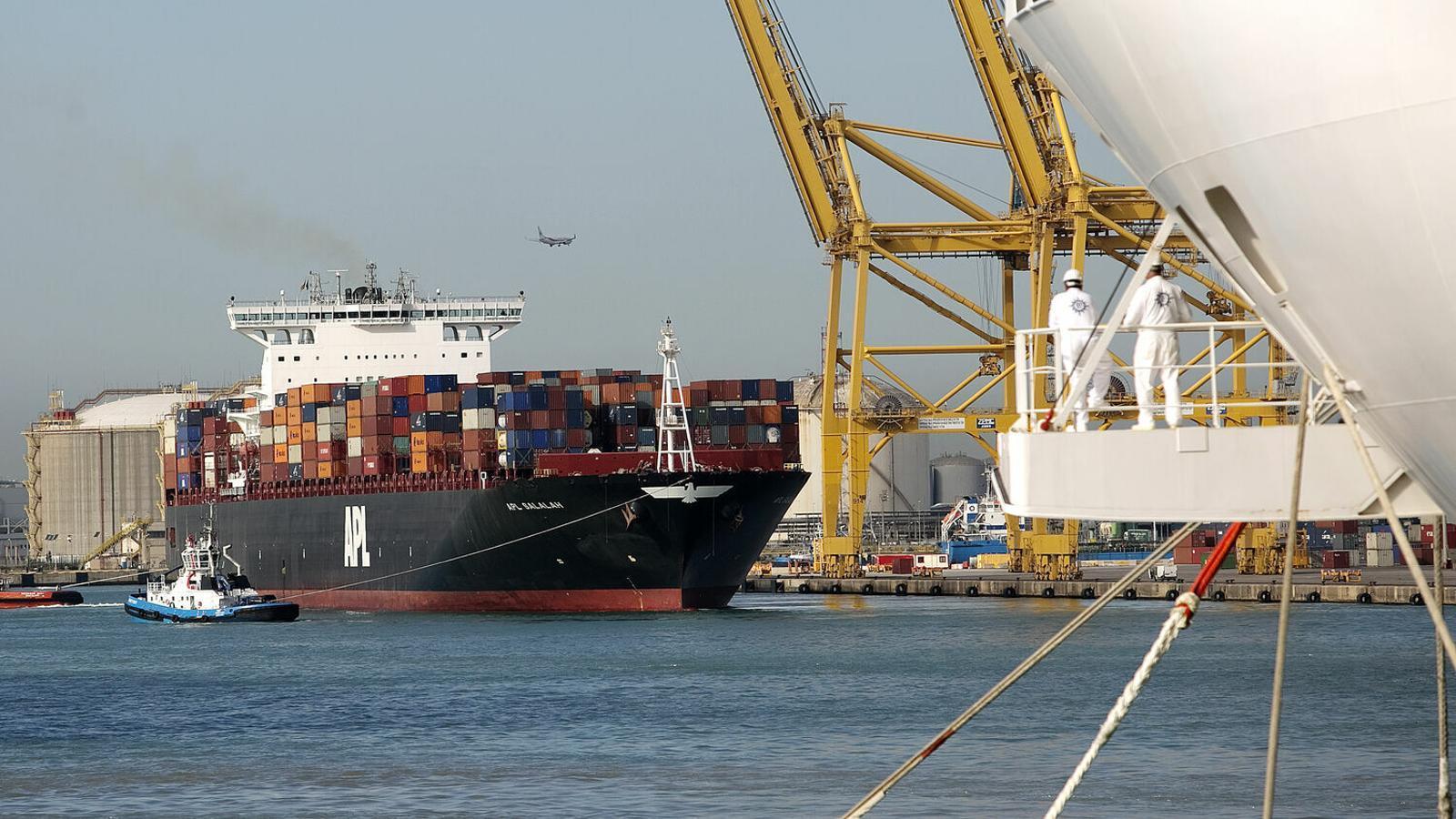 Les exportacions catalanes es van accelerar l'any passat.