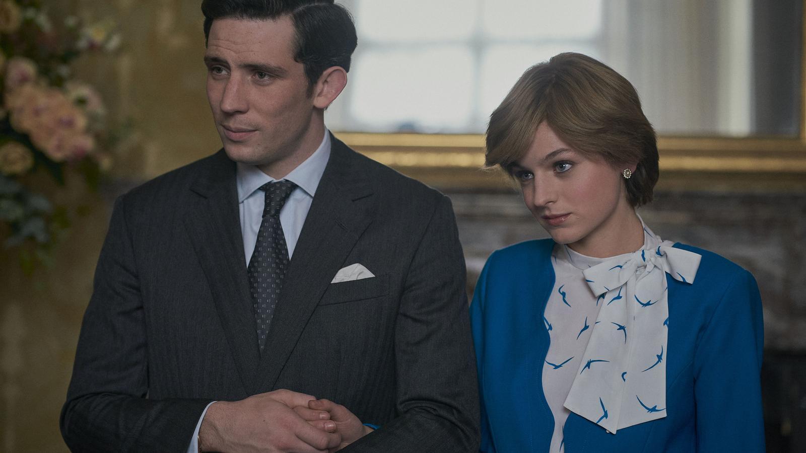 Josh O'Connor i Emma Corrin interpreten el príncep Carles i la princesa Diana