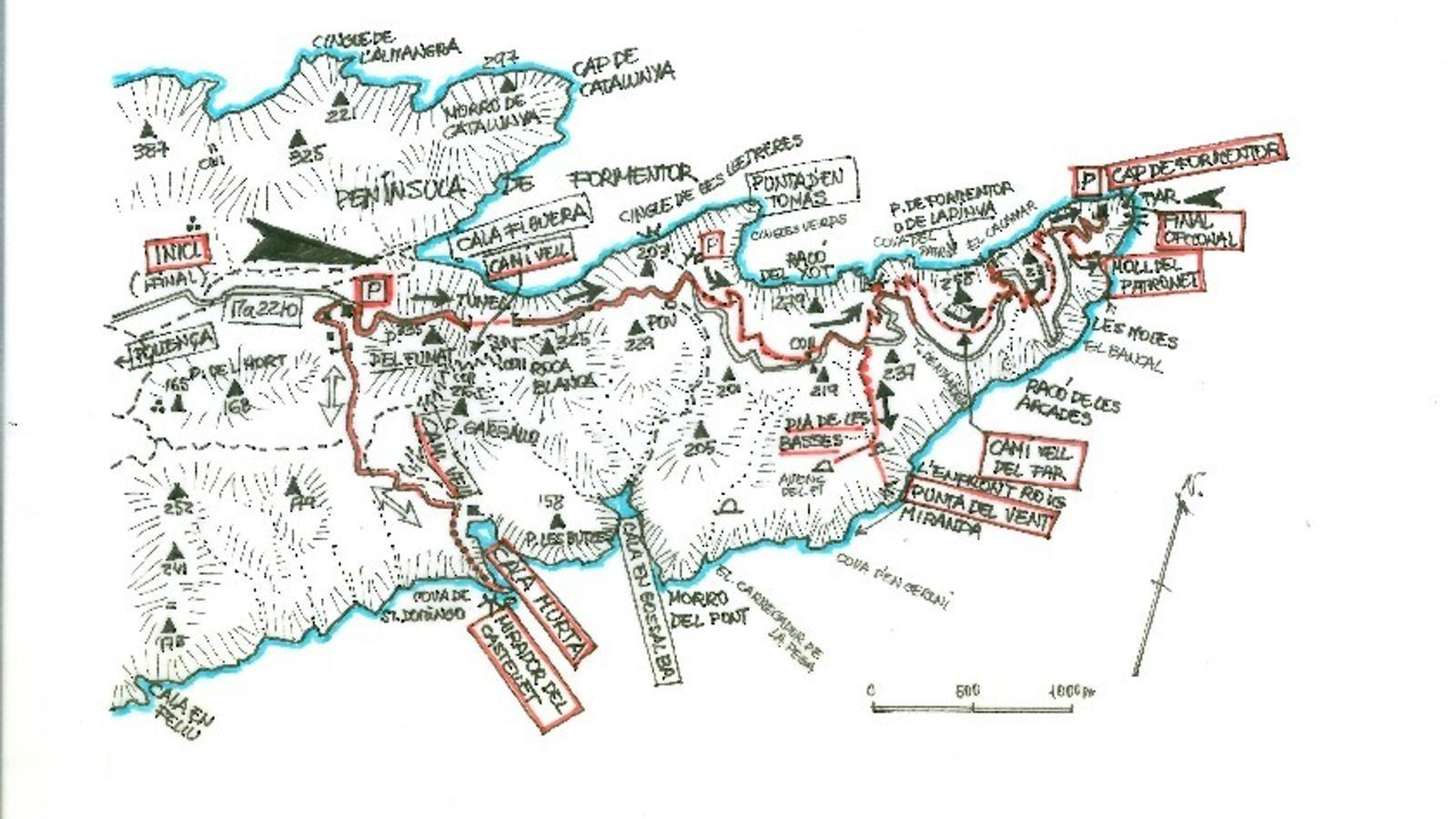 Formentor, l'extrem tramuntanal