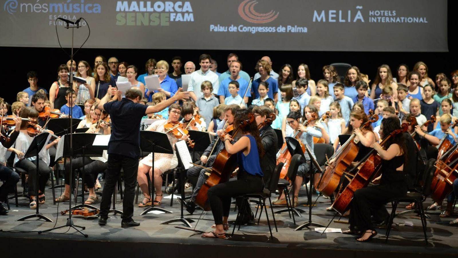 El concert es durà a terme a l'Auditorium de Palma