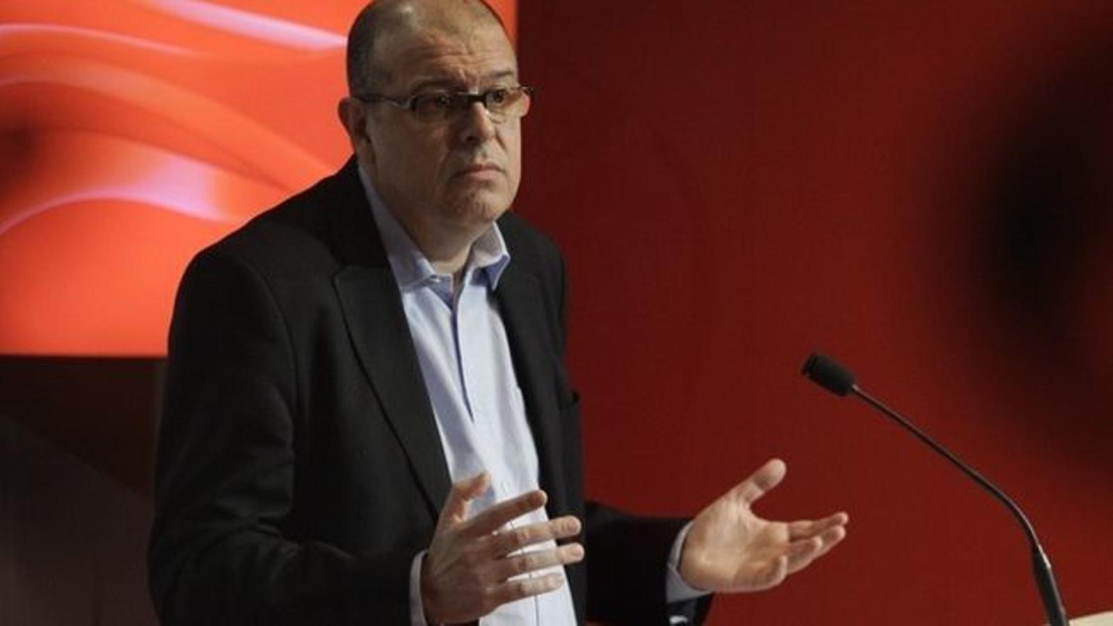 L'exsecretari d'organització del PSC José Zaragoza