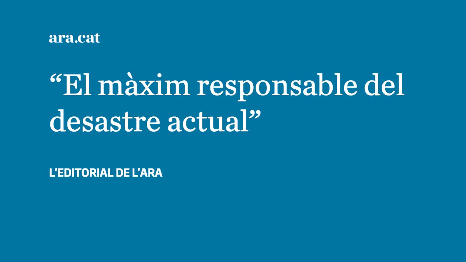Torna Aznar, torna el pitjor PP