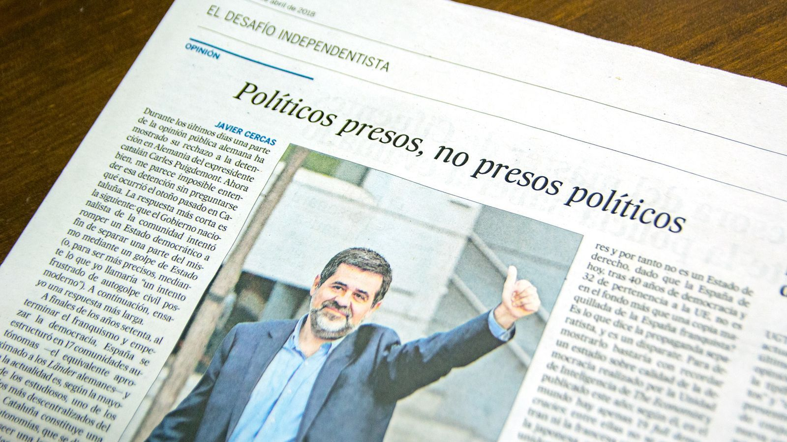 L'anàlisi d'Antoni Bassas: 'Una resposta cordial a Javier Cercas'