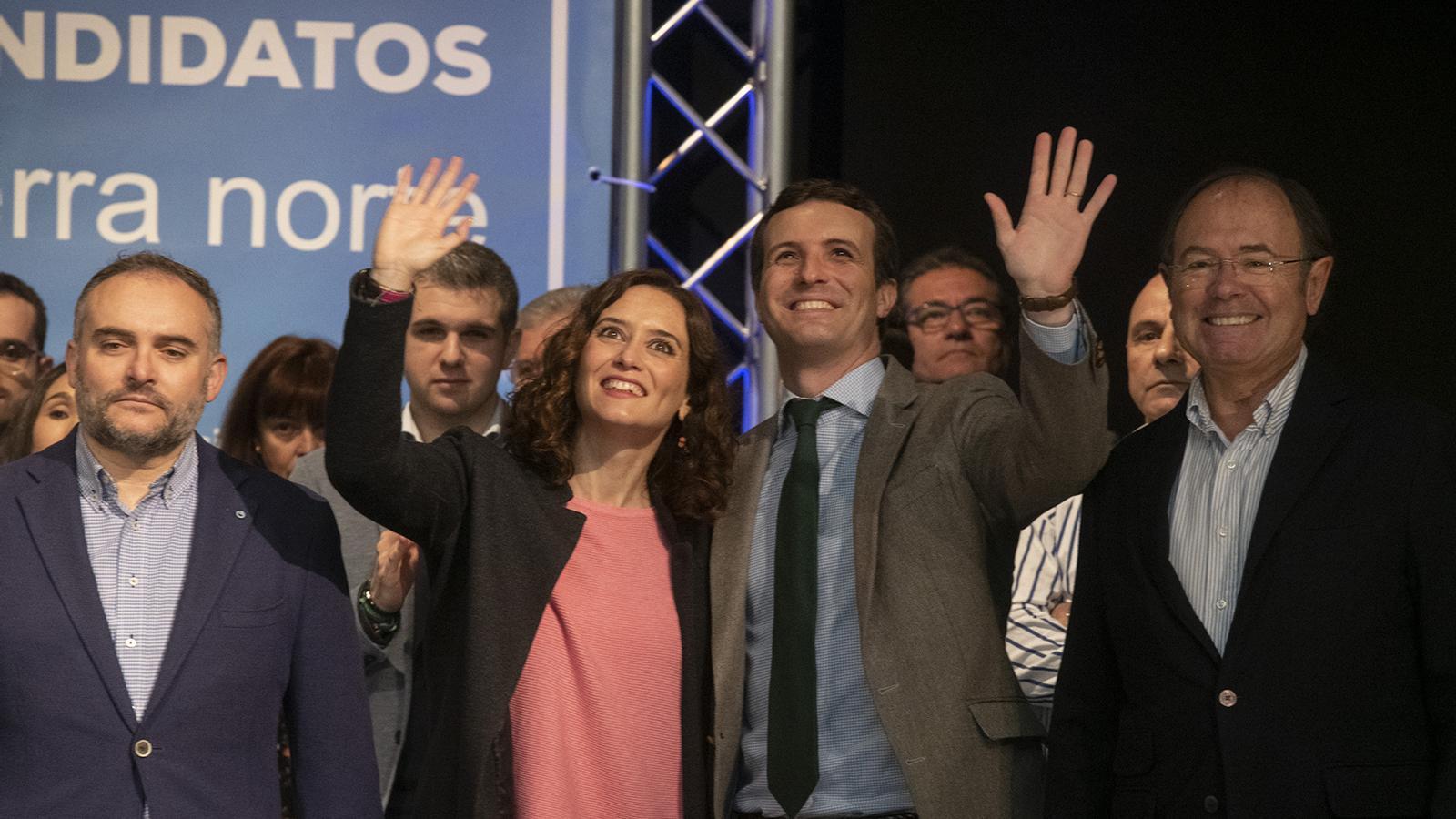 """Casado insta a triar entre la unitat d'Espanya o un govern de """"caos"""" on manin els independentistes"""
