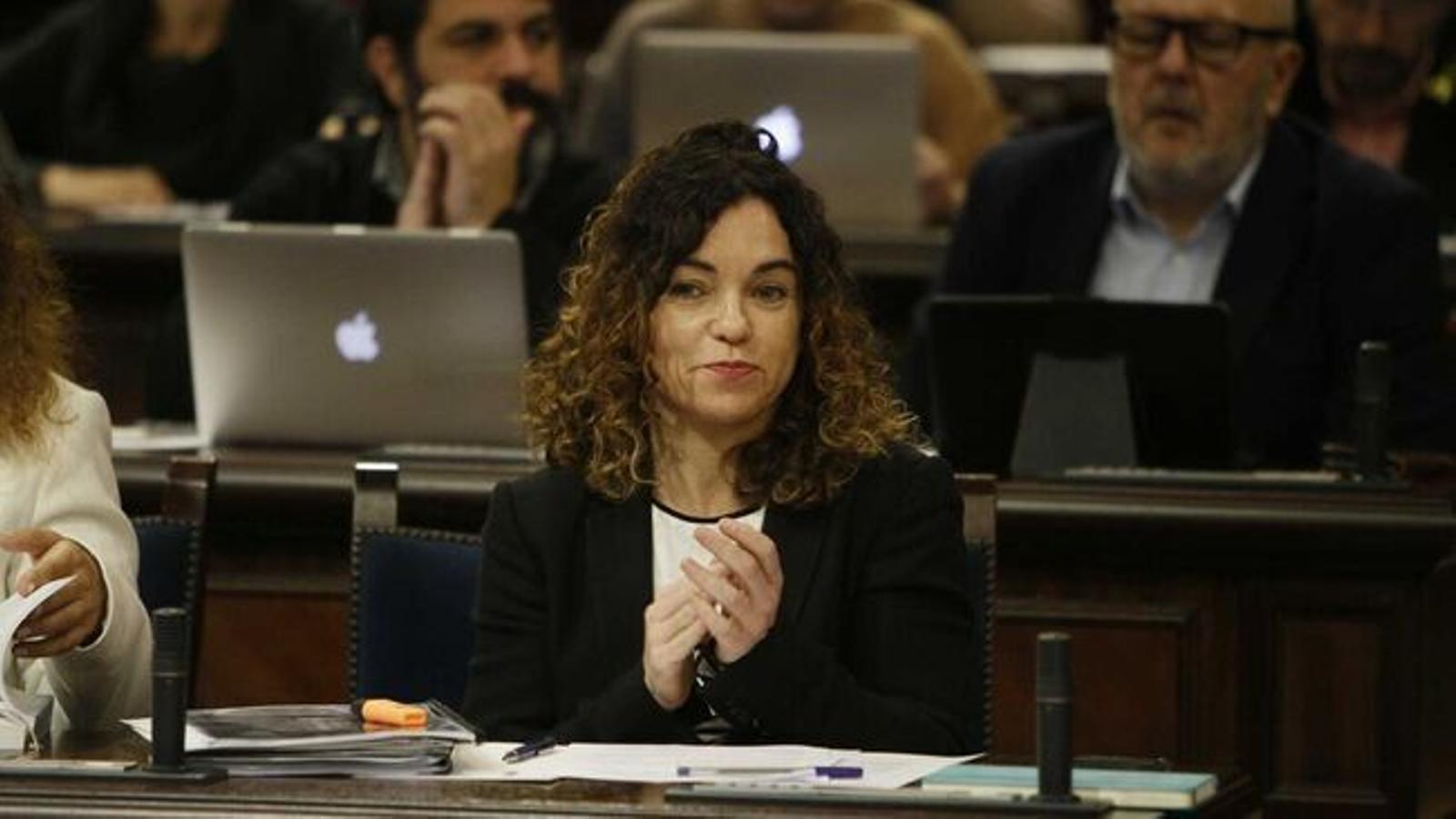 La consellera d'Hisenda i Relacions Exteriors, Rosario Sánchez. / ISAAC BUJ
