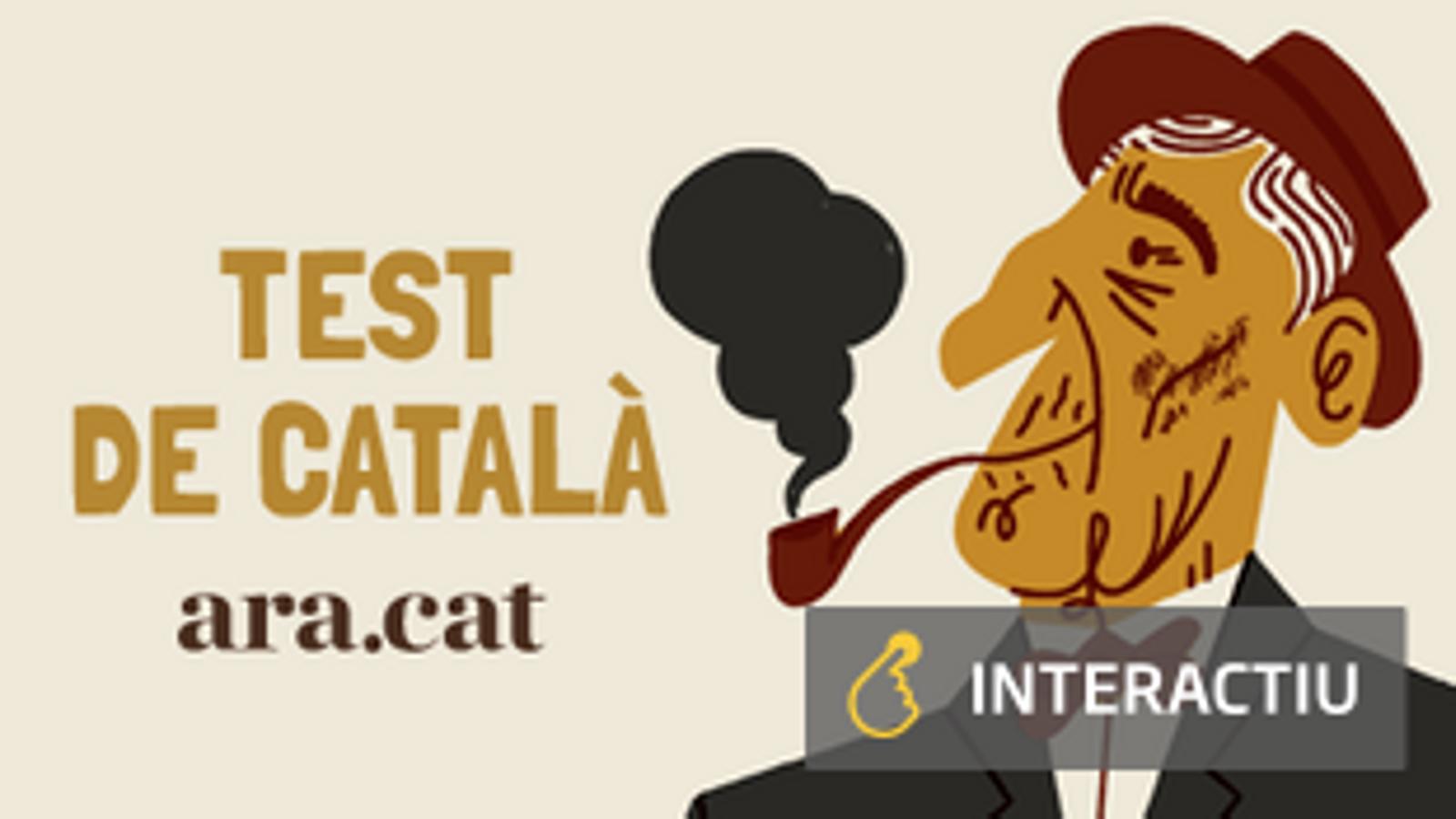 Posa aquí a prova els teus coneixements de català (i repassa la vida de Fabra)