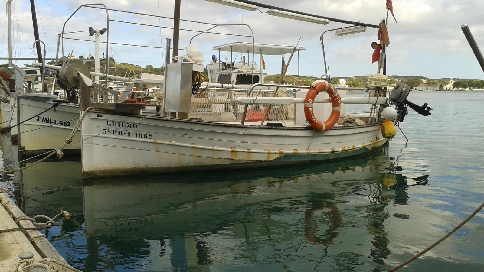 Barques de la Confraria de Pescadors de Maó