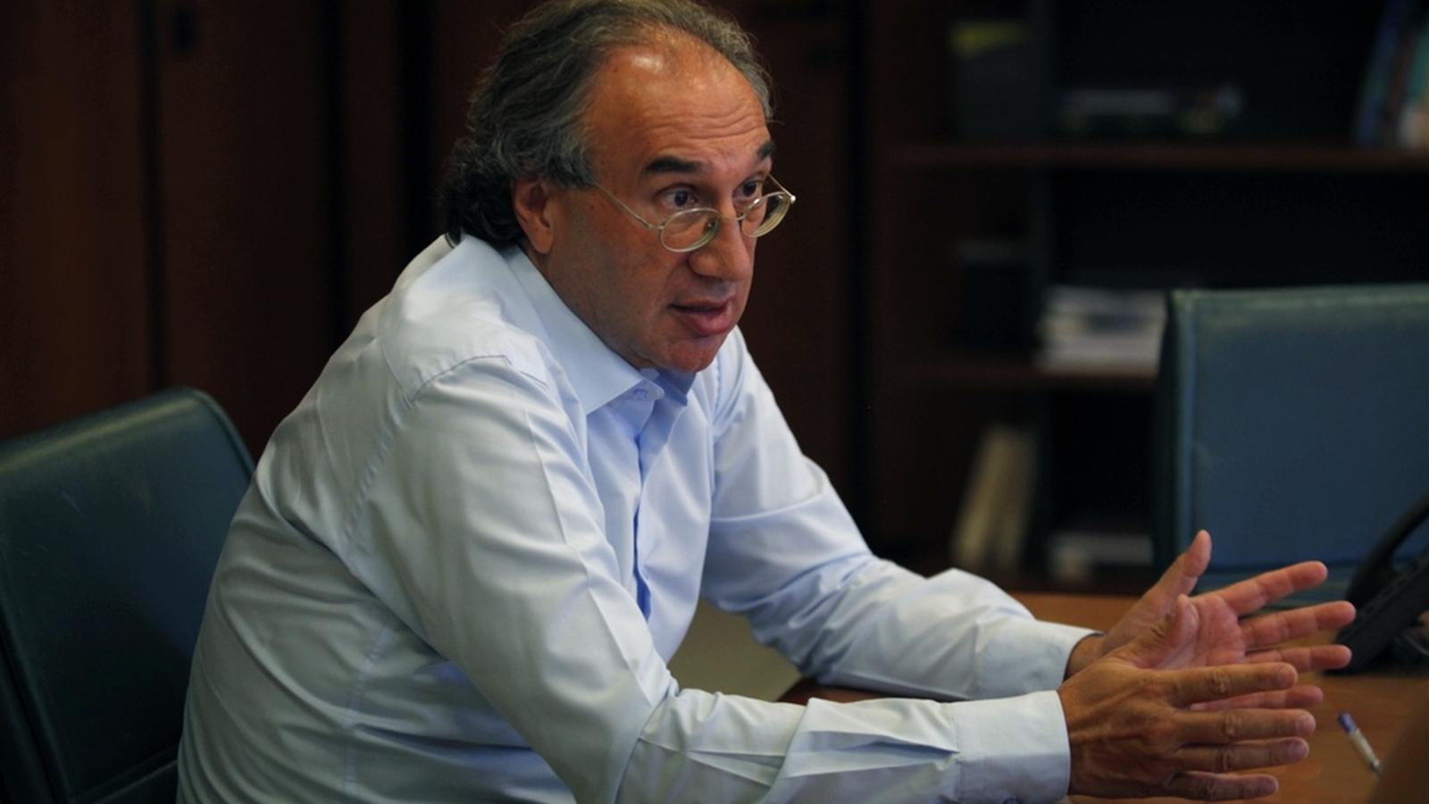 El conseller d'Educació, Martí March, aquest dimecres durant l'entrevista amb l'ARA Balears. MARGA MONER
