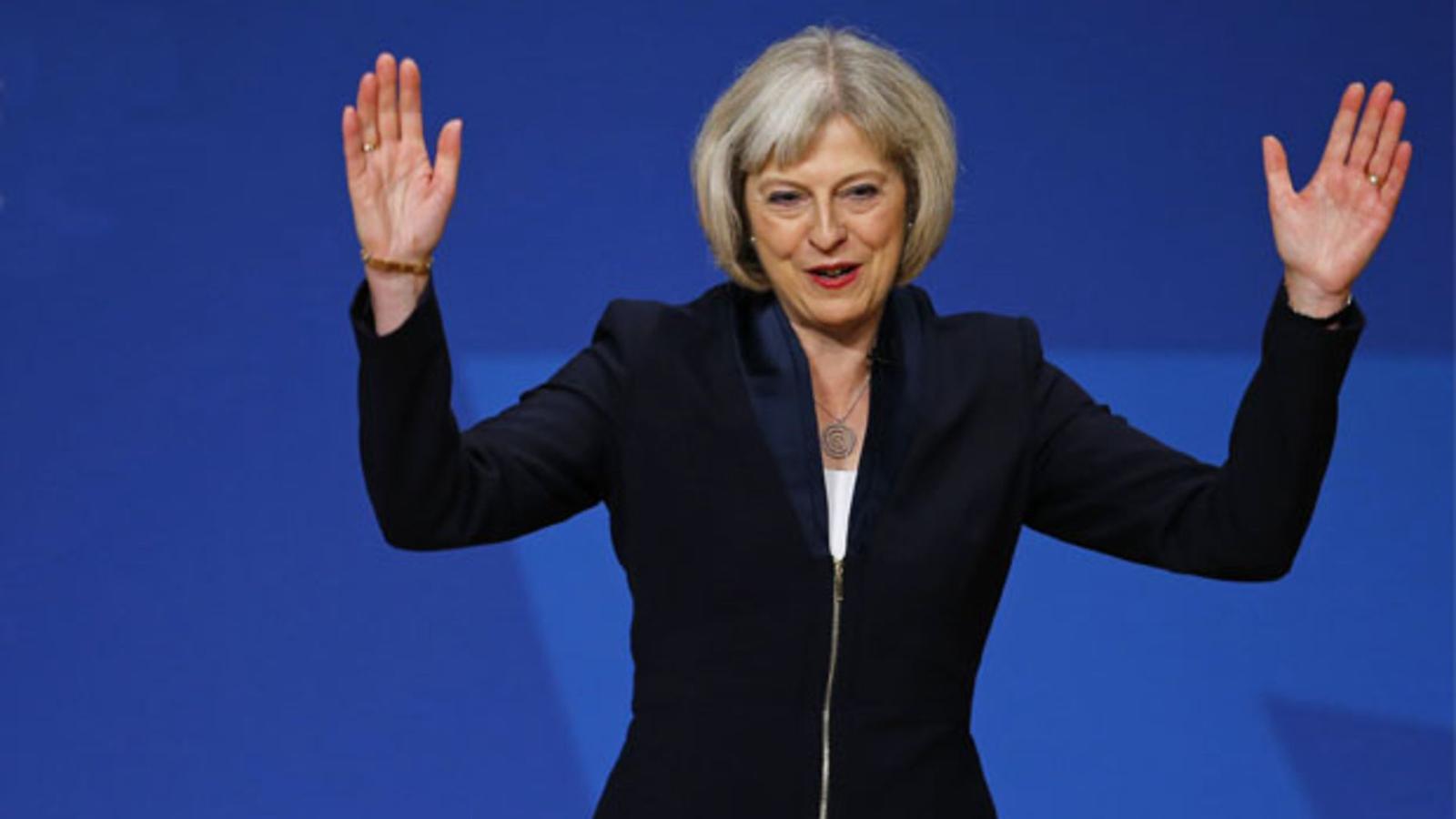 Theresa May en una imatge d'arxiu