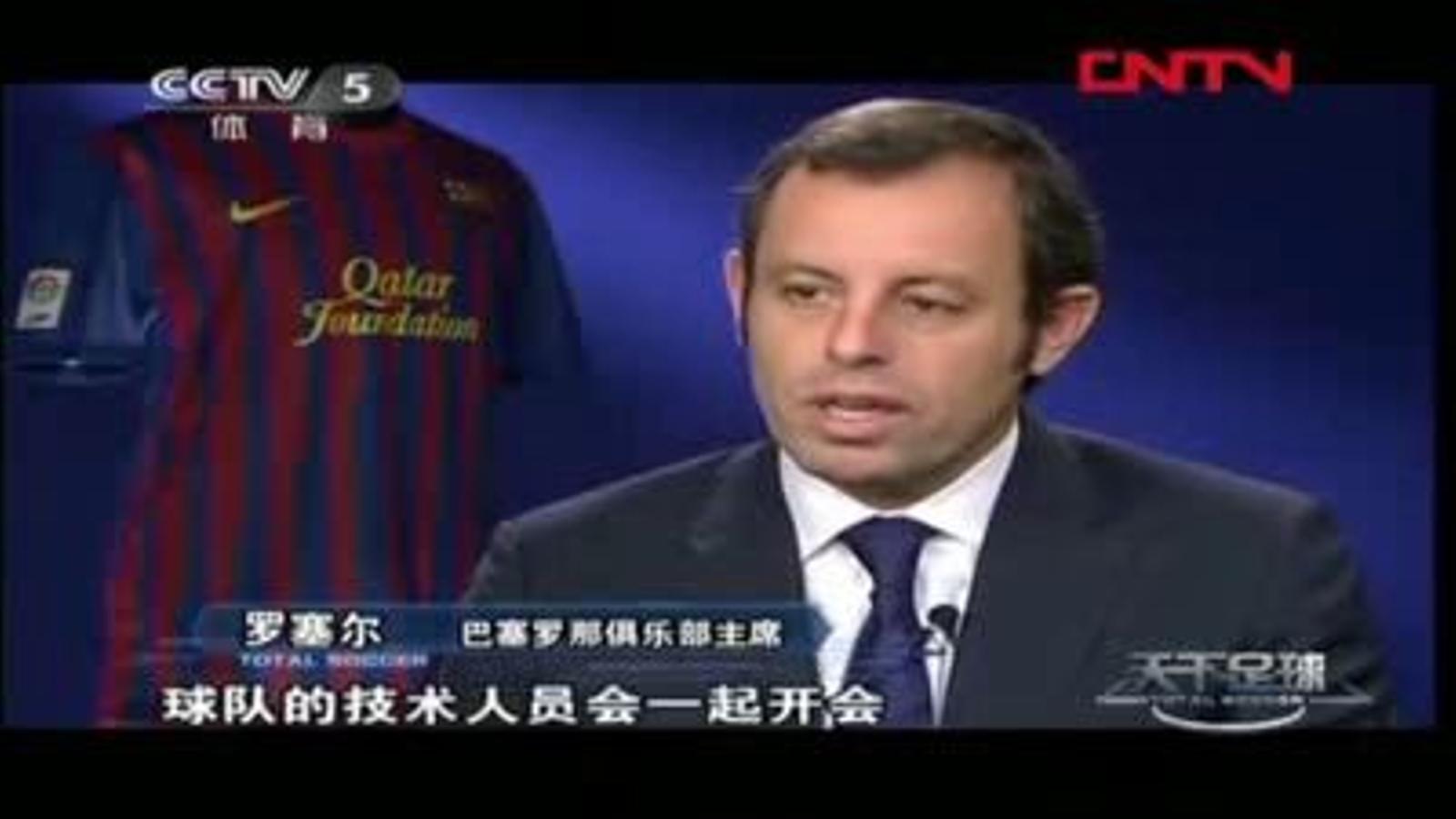 Sandro Rosell: Jo mai vendré Leo Messi
