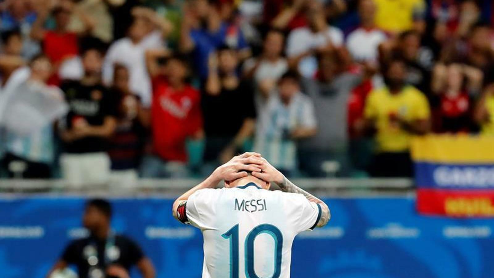 Messi debuta a la Copa Amèrica amb derrota contra Colòmbia (0-2)