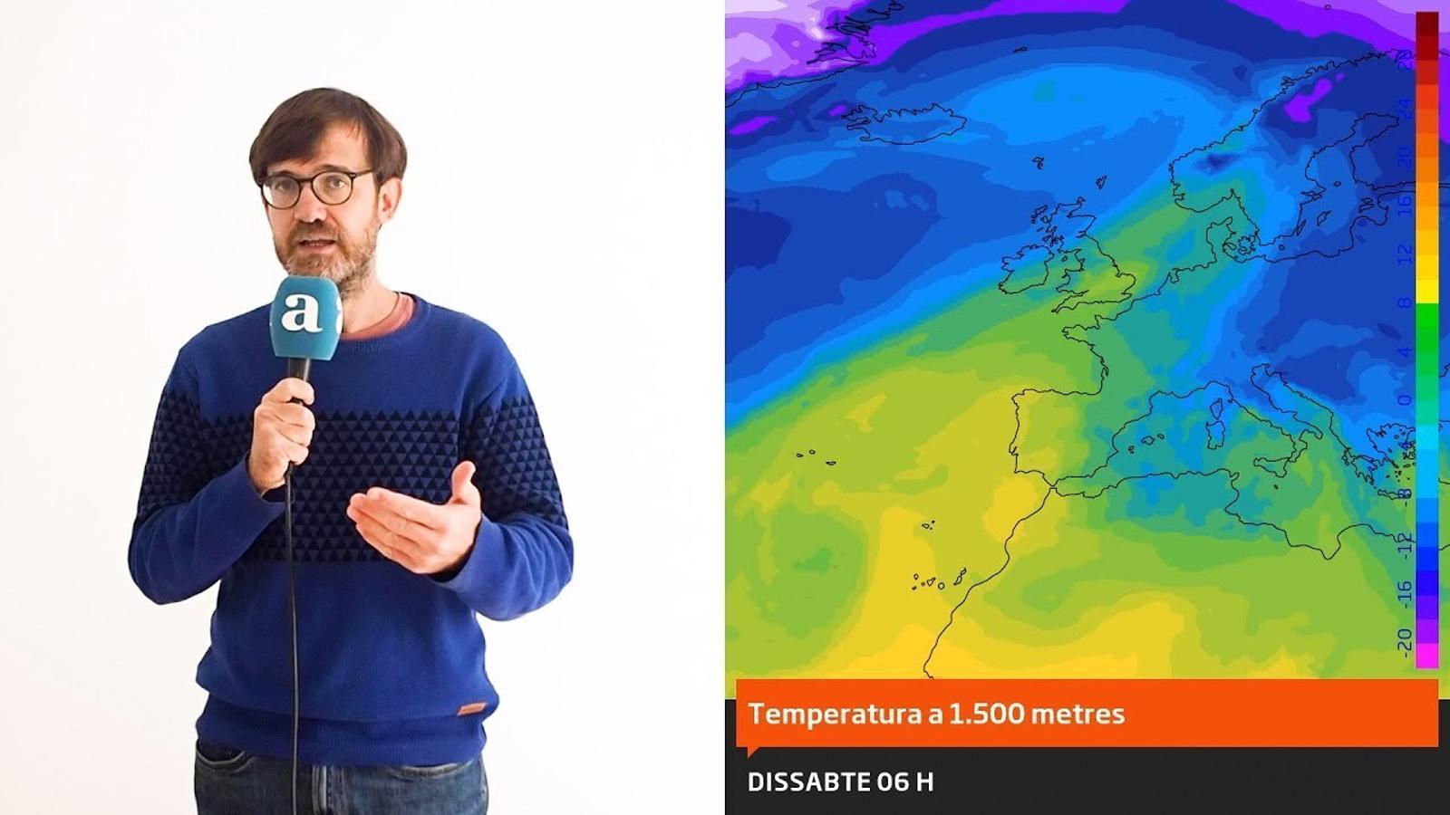 La méteo: nits més fredes i possibles canvis a mitjà termini