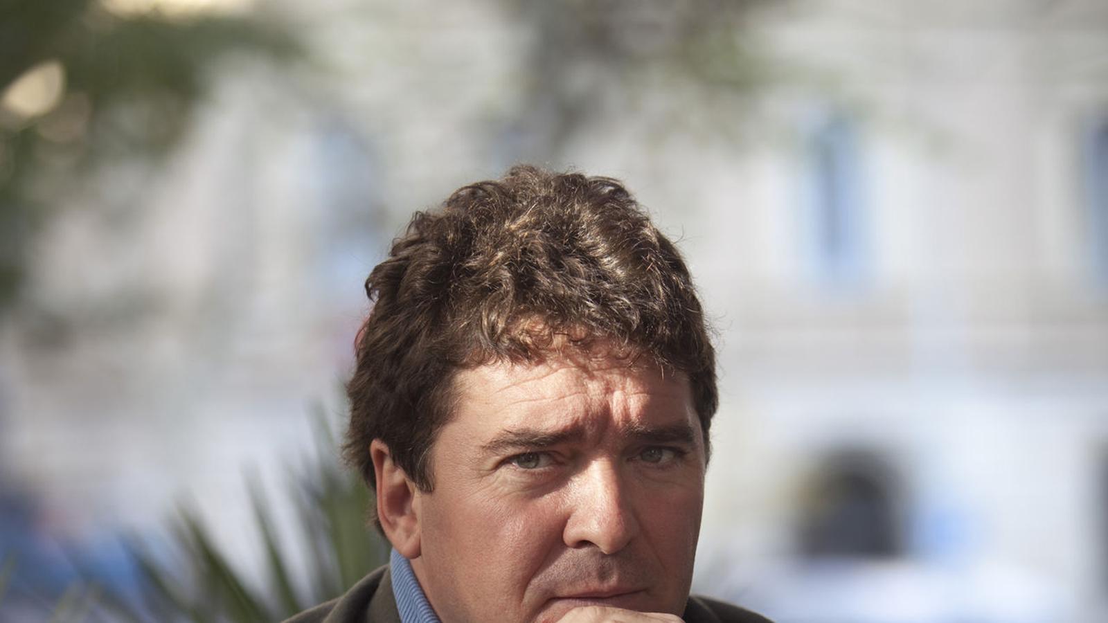 El periodista Carlos Quílez. / ARA