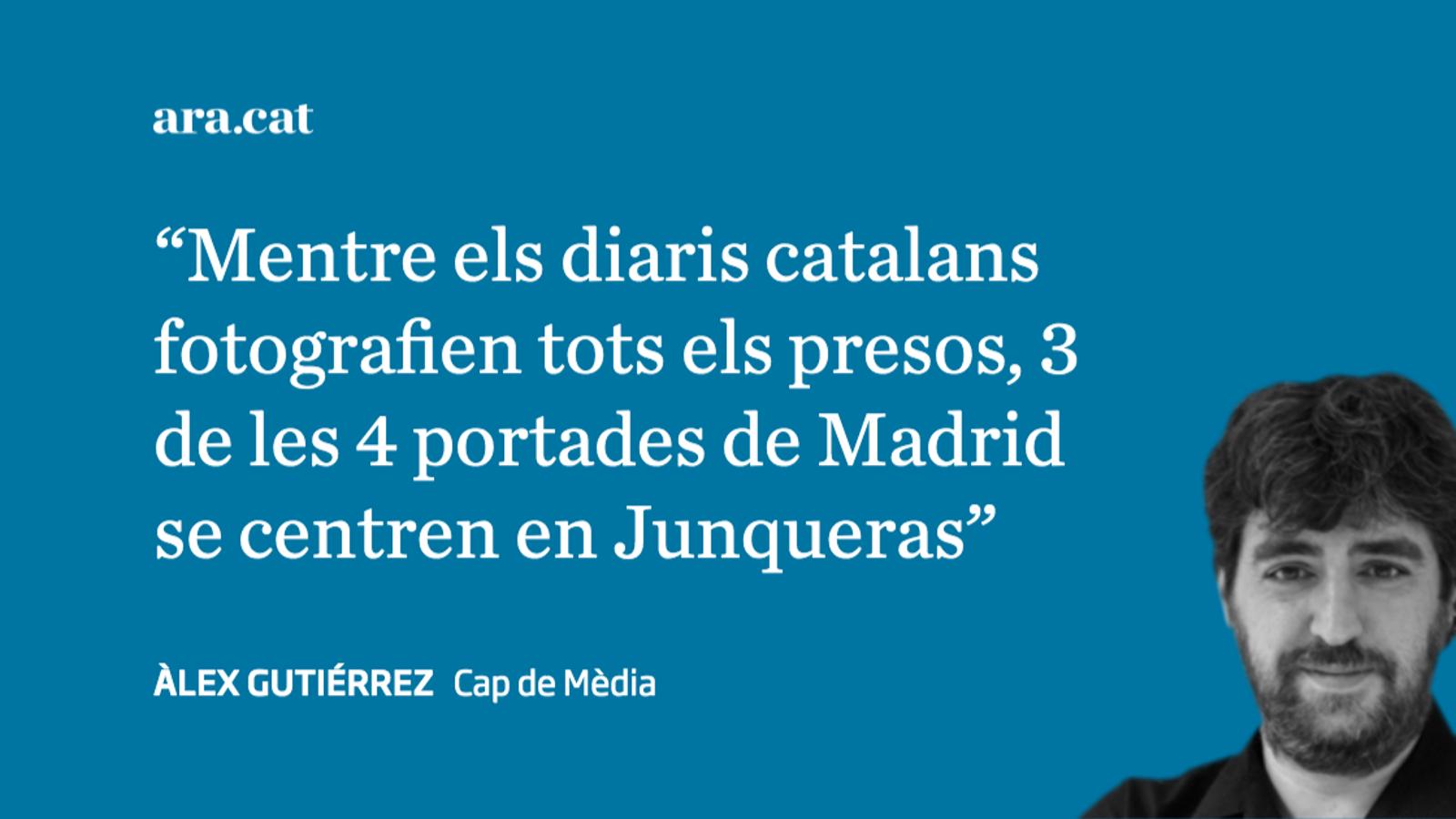 'El País' fa espòiler i rebenta la intriga dels presos polítics diputats