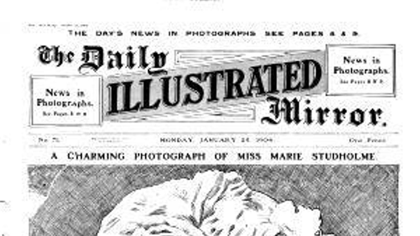 Fa 114 anys de la fotografia en color als diaris