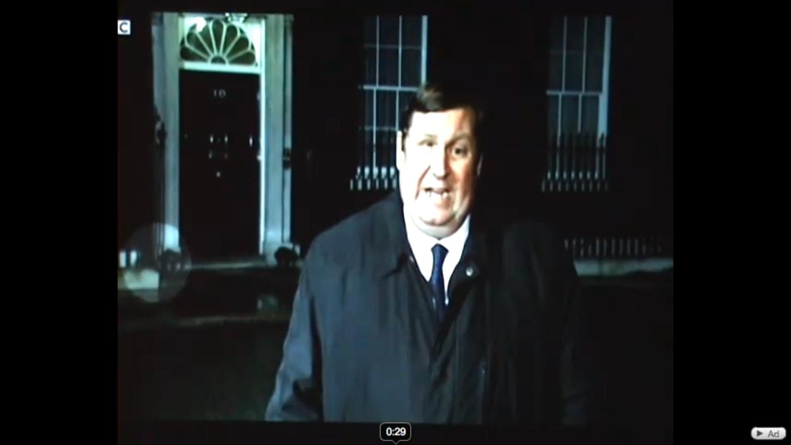 Rates al número 10 de Downing Street