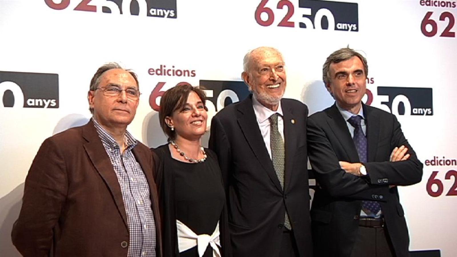 Artur Mas, a l'aniversari d'Edicions 62: Qui lluita pot perdre, qui no lluita ja ha perdut