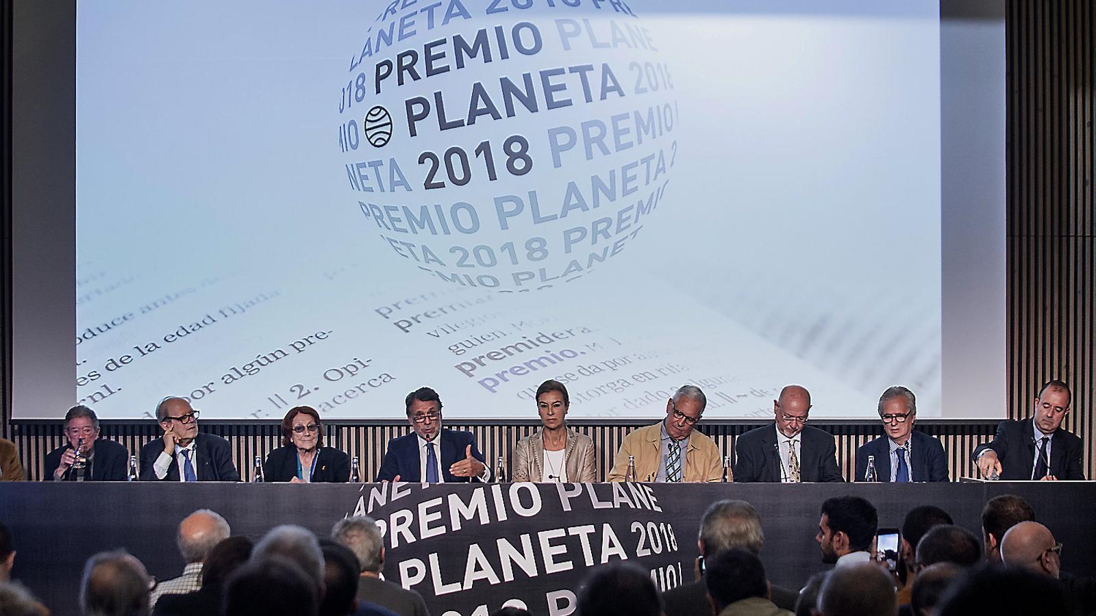 La veu femenina domina als premis Planeta