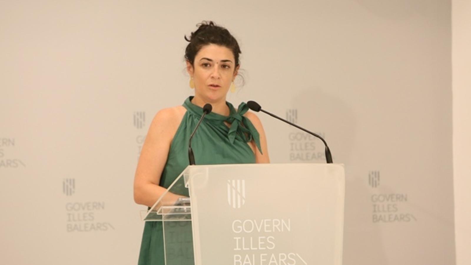 La consellera d'Administracions Públiques i Modernització, Isabel Castro.