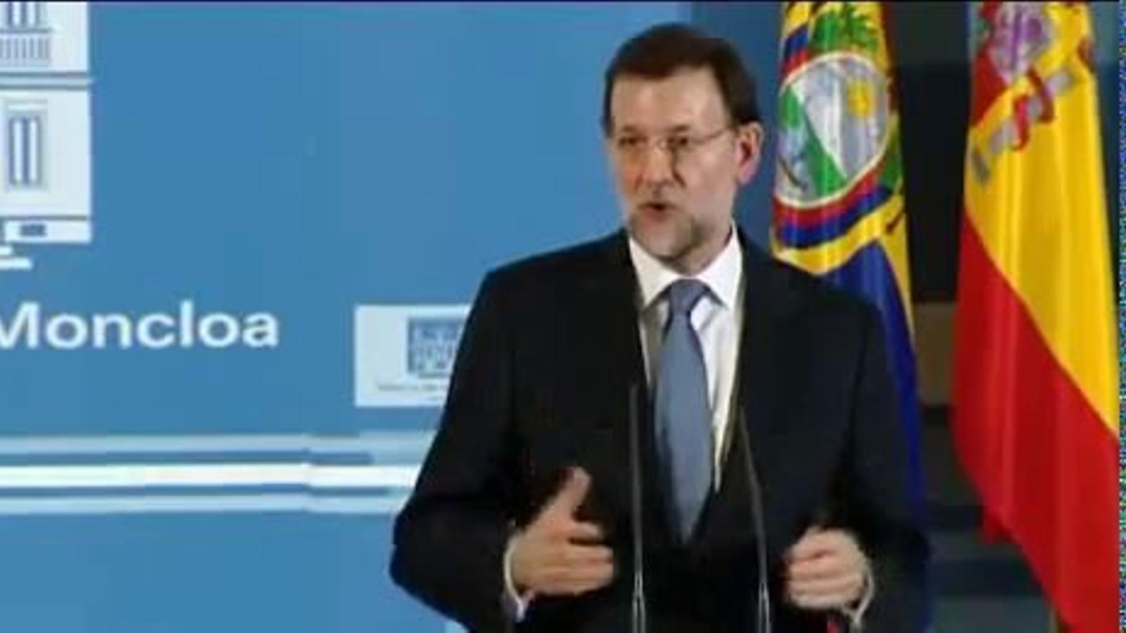 Rajoy, el 17 de març: Personalment, no sóc partidari del copagament sanitari