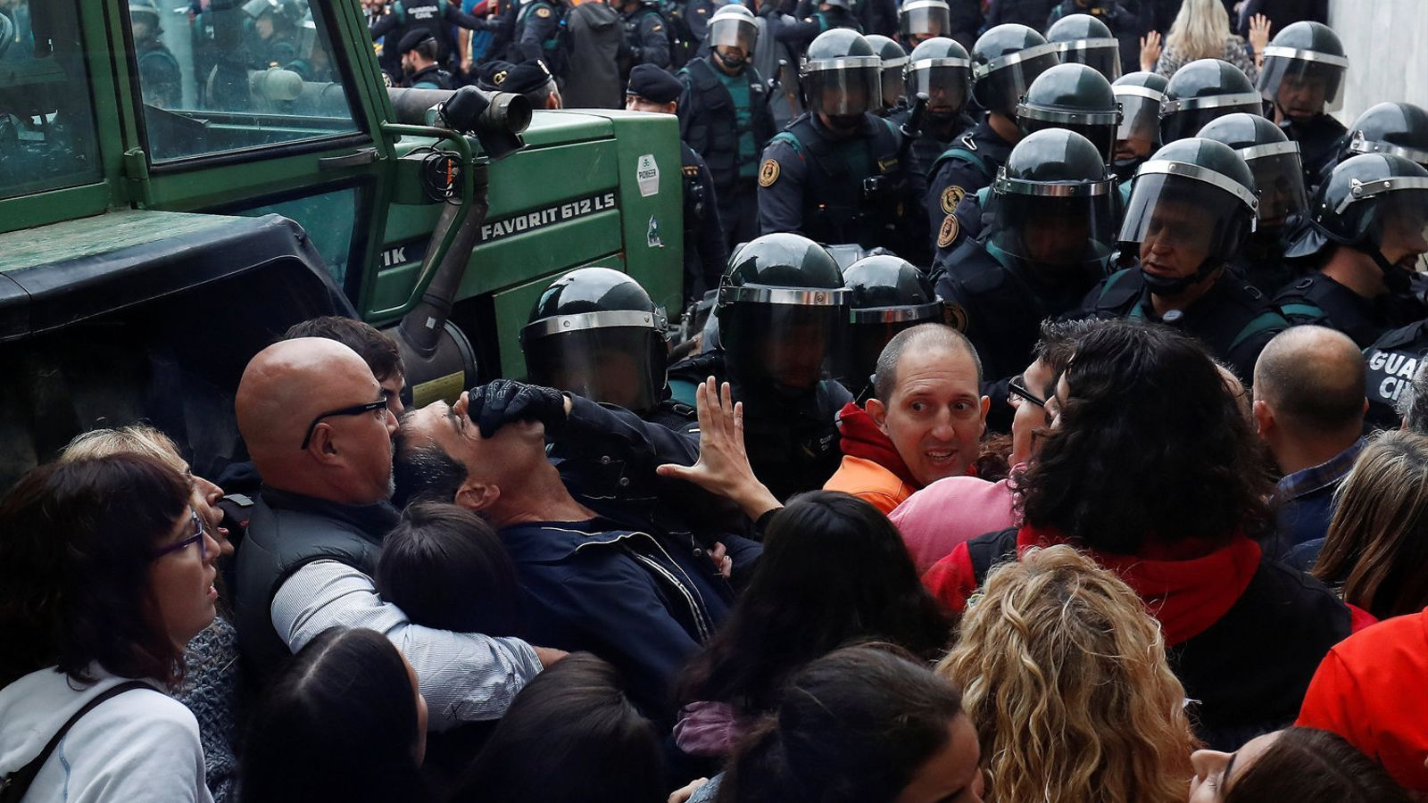 Els advocats denuncien 'dilacions injustificades' en la querella contra l'actuació policial de l'1-O a Girona