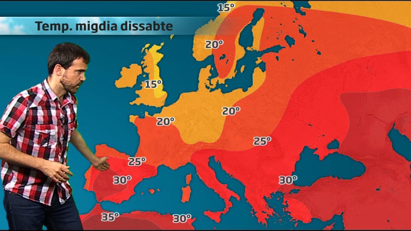 ARA Méteo: El temps a les capitals mundials (del 29 de juliol al 4 d'agost de 2011)