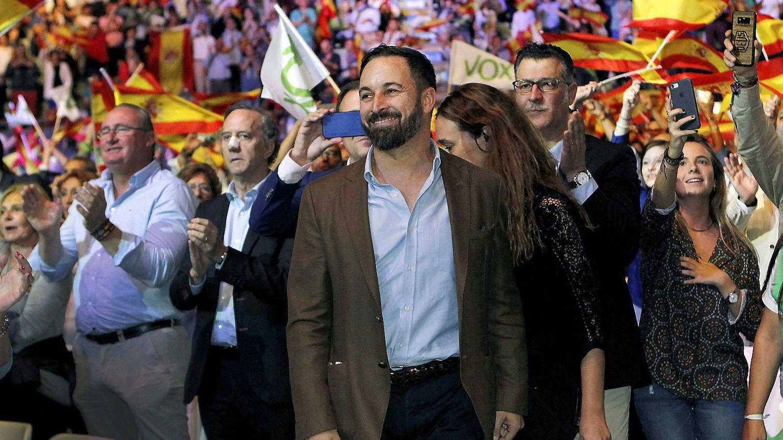 """""""Aquest no és un partit democràtic ni ho serà"""", admet en un àudio el cap de campanya de Vox a Alacant"""