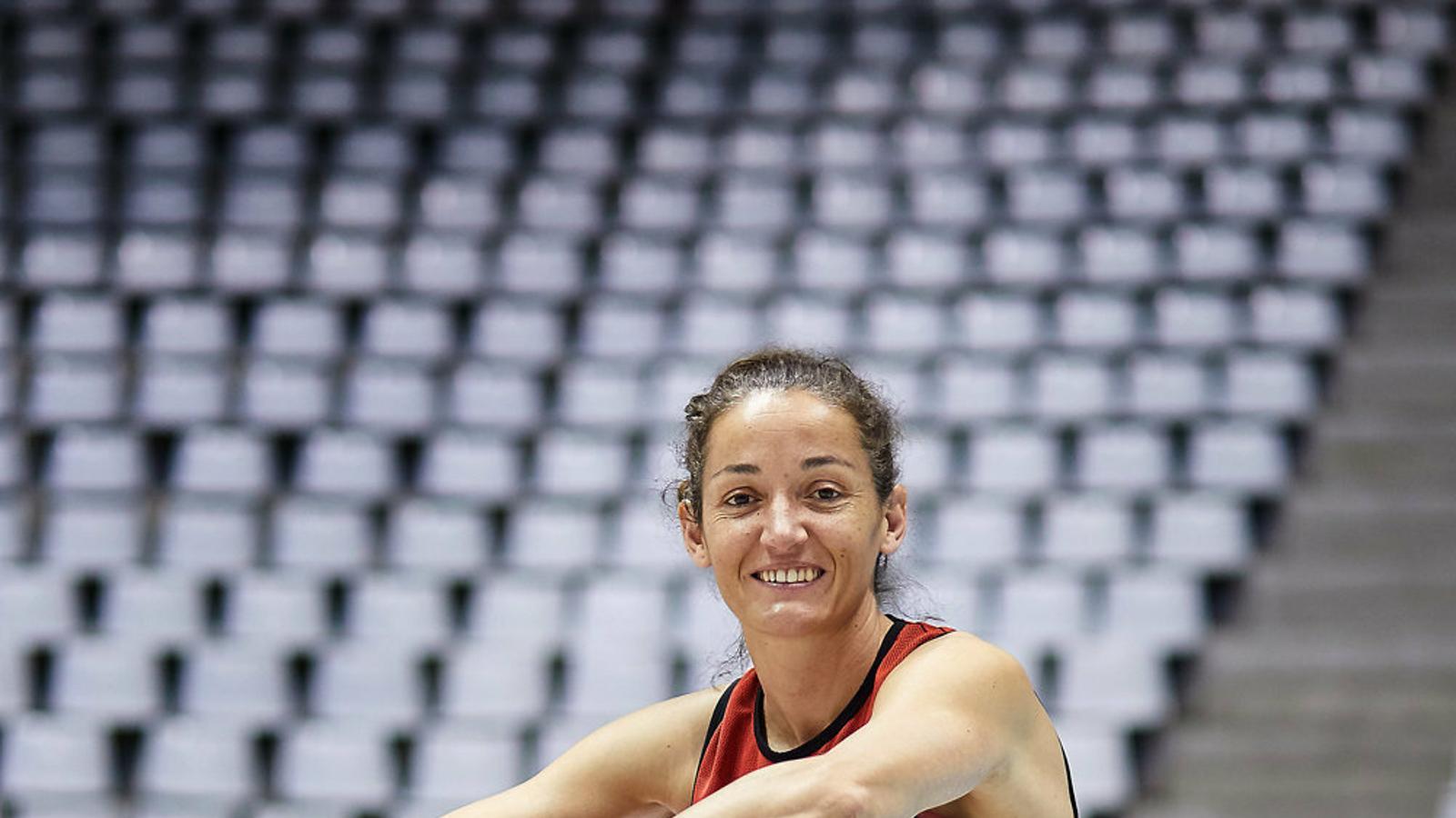 Laia Palau renova un any amb l'Spar Citylift Girona i arribarà a les 23 temporades com a professional