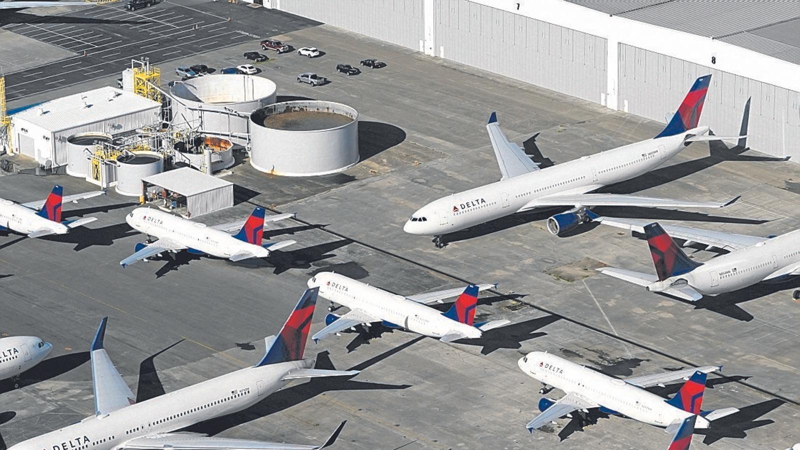 Les aerolínies ja flirtegen amb rescats públics