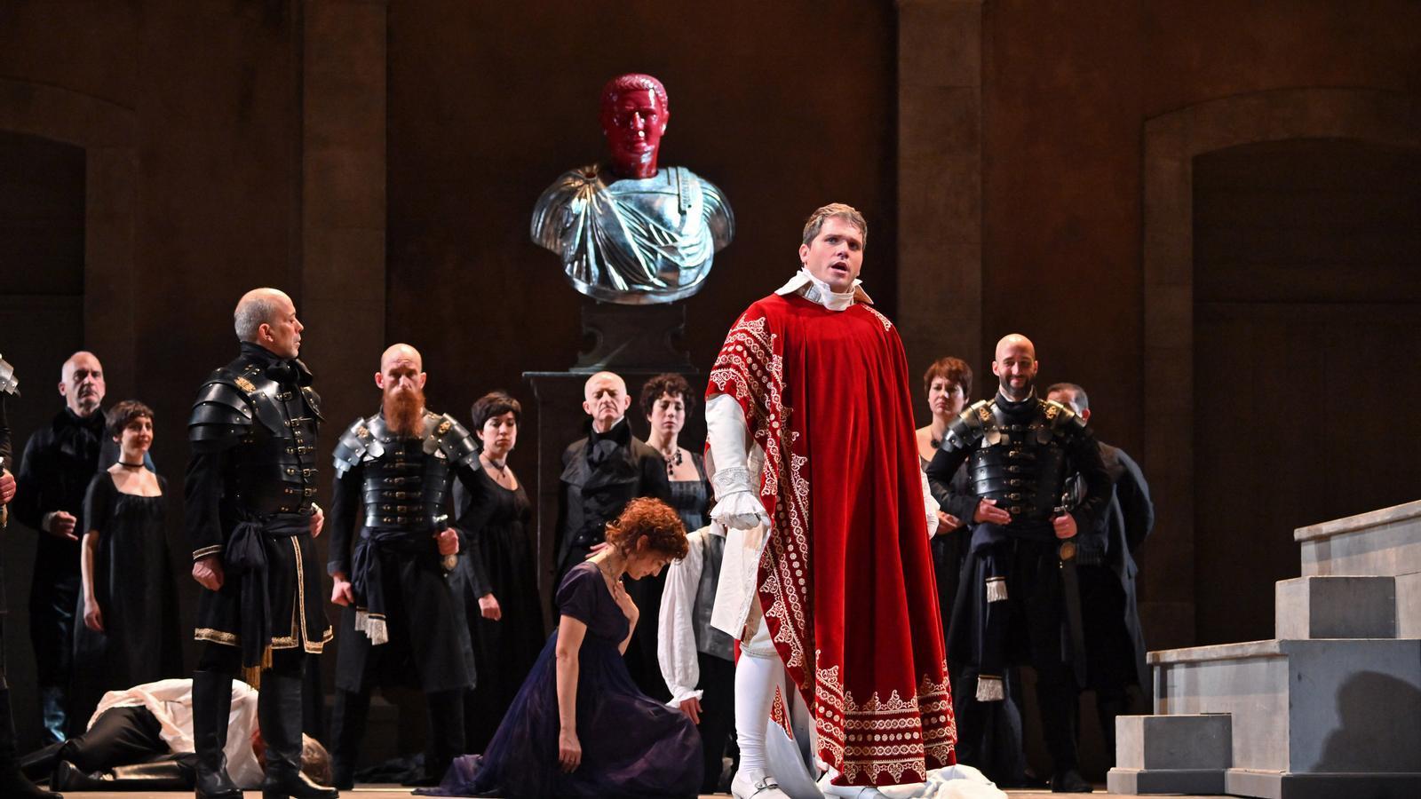 Una escena de 'La clemenza di Tito', que es pot veure al Liceu