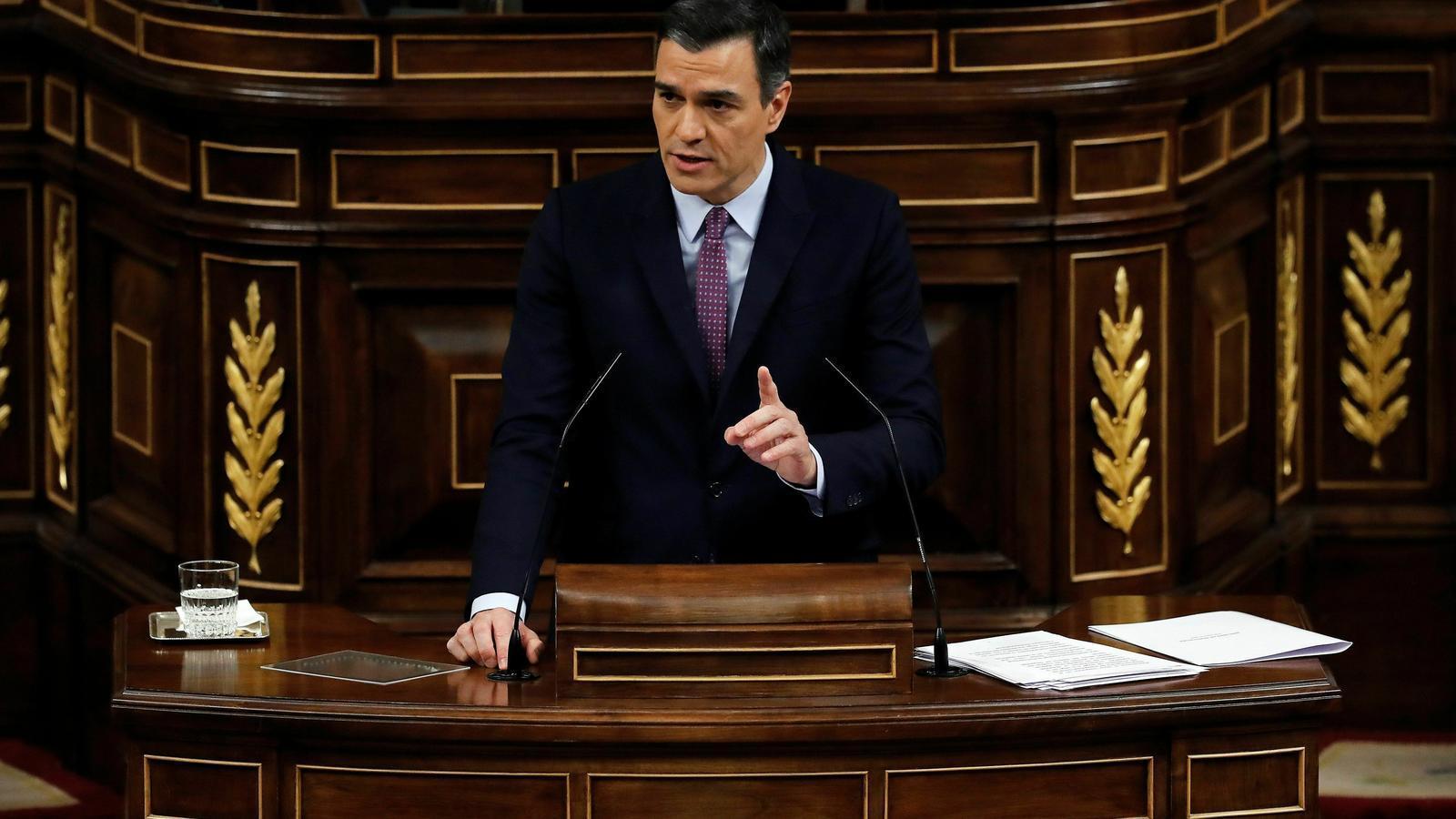 """Sánchez: """"Hem de deixar enrere la judicialització del conflicte. Necessitem recomençar"""""""