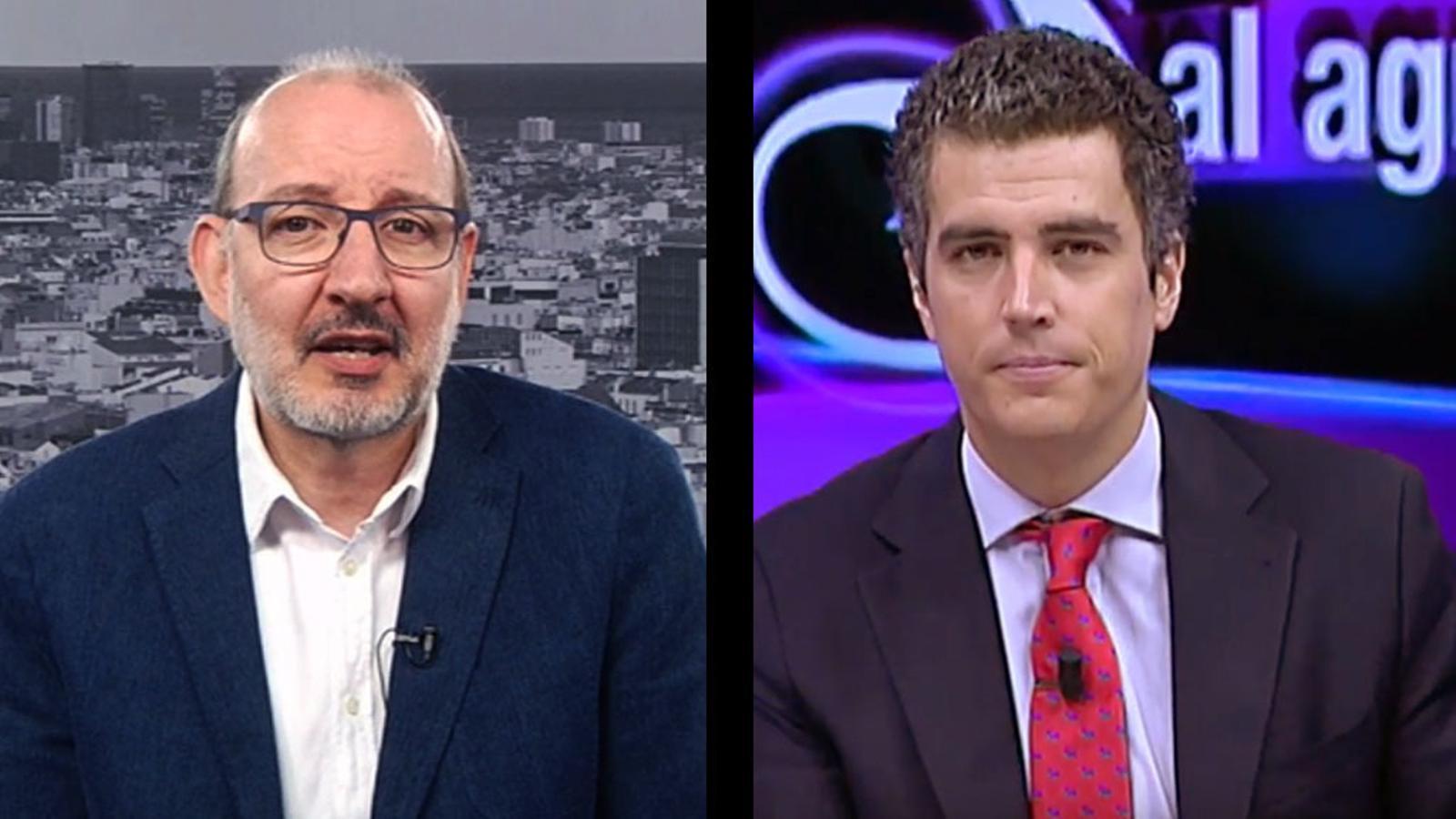 """""""A por ellos"""": 'El Gato al Agua' respon a Antoni Bassas"""