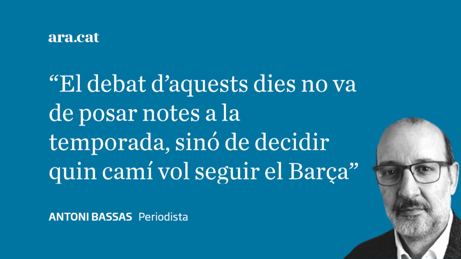 La drecera del Barça