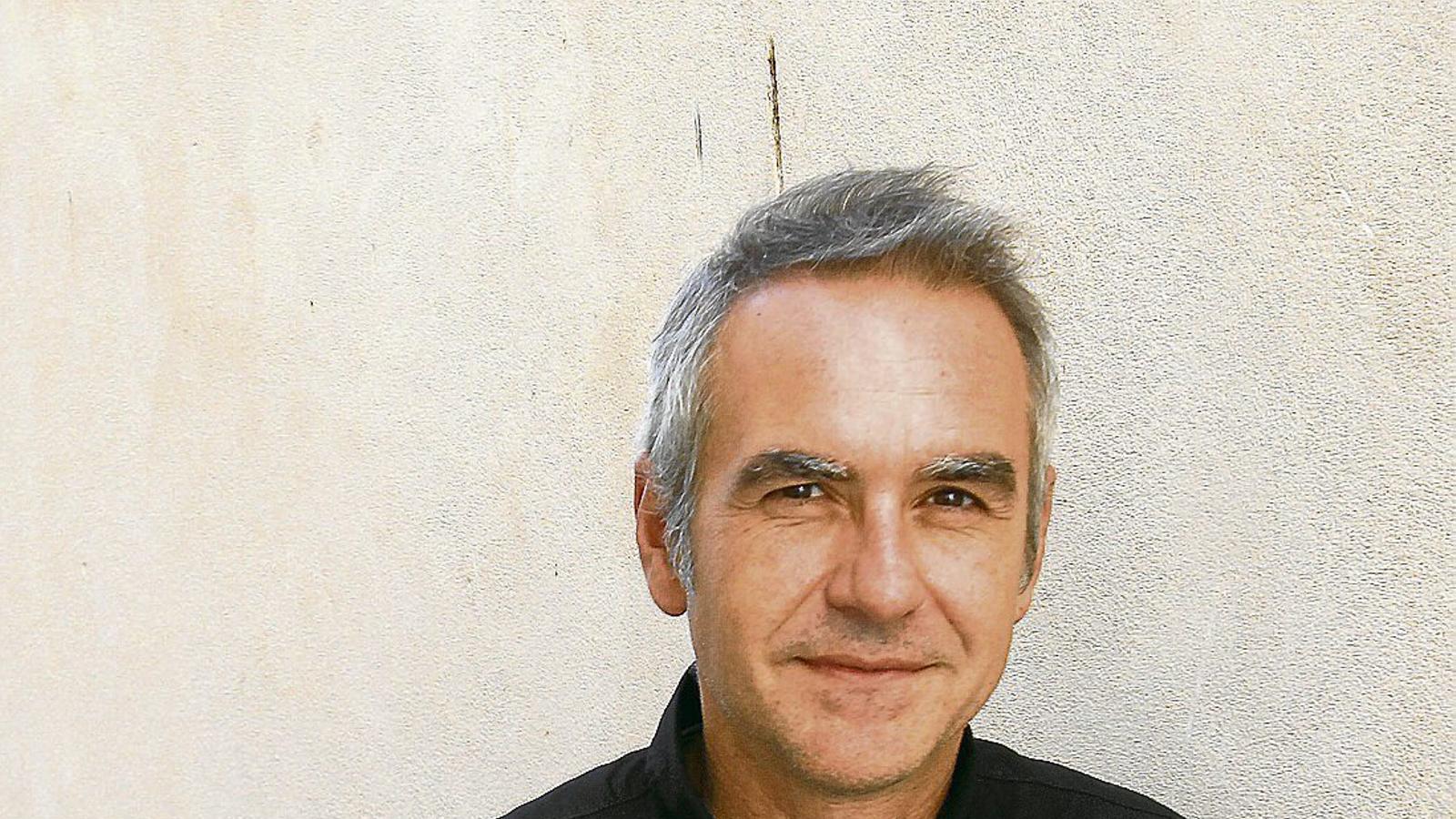 """Santiago Lesmes: """"L'administració és el primer motor econòmic del país"""" / ISAAC BUJ"""