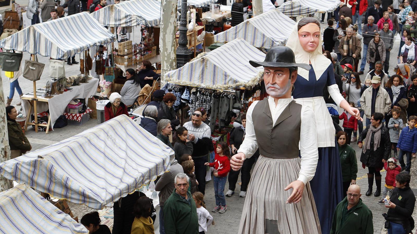 Els alaroners participaren de la festa que donava els sus dels actes de la Diada de Mallorca.