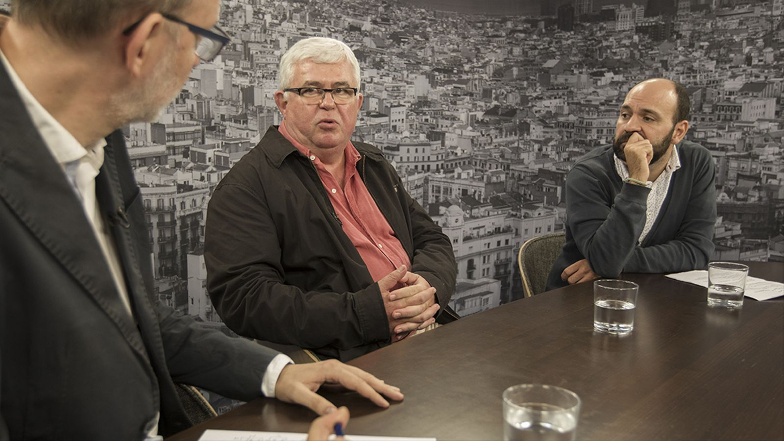 Entrevista d'Antoni Bassas a Agustí Alcoberro (ANC) i Marcel Mauri (Òmnium)