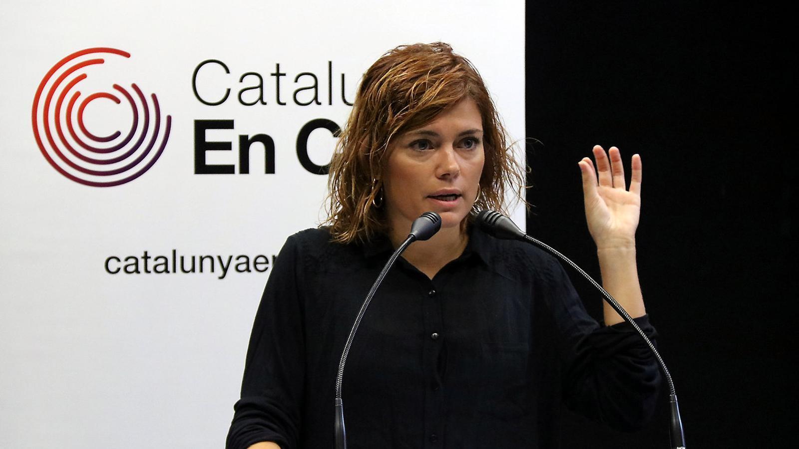 La portaveu parlamentària de Catalunya en Comú - Podem, Elisenda Alamany / ACN