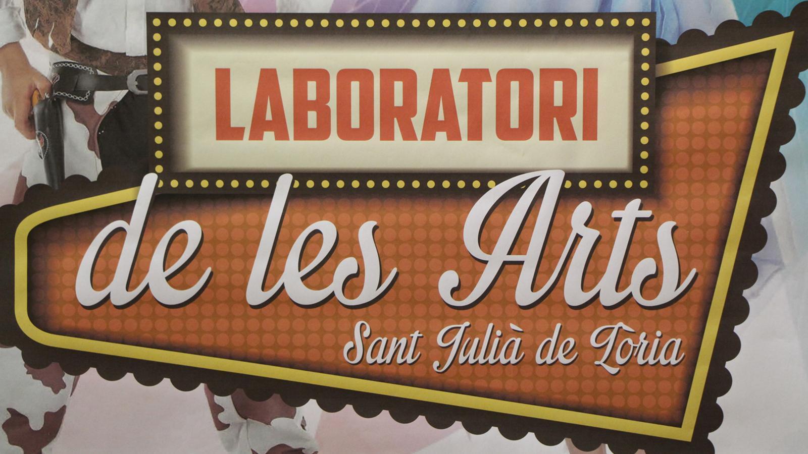 Cartell promocional de la 3a edició del Laboratori de les Arts