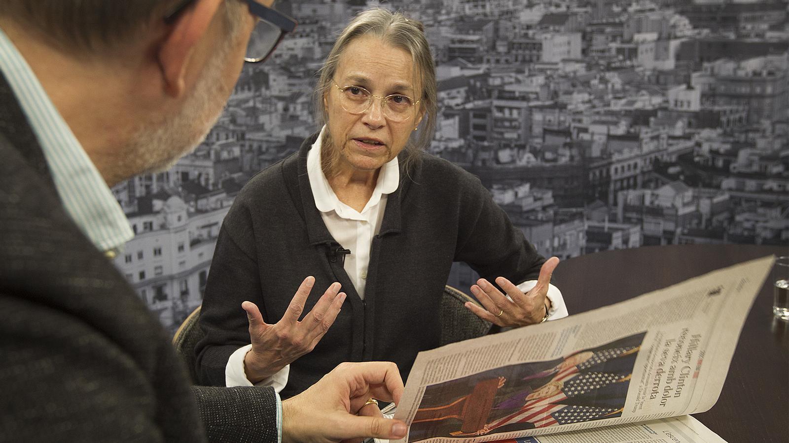 Entrevista d'Antoni Bassas a Susan DiGiacomo