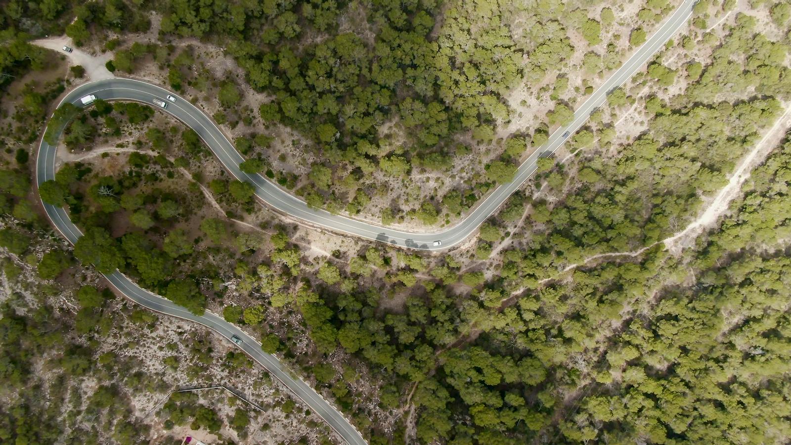 Carretera de la Mola, a Formentera