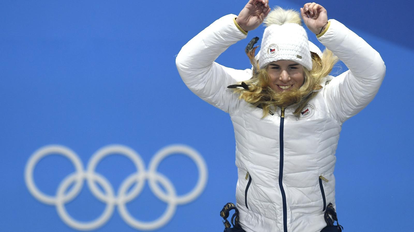 Ledecka fa història i guanya l'or en dos esports diferents a Pyeongchang