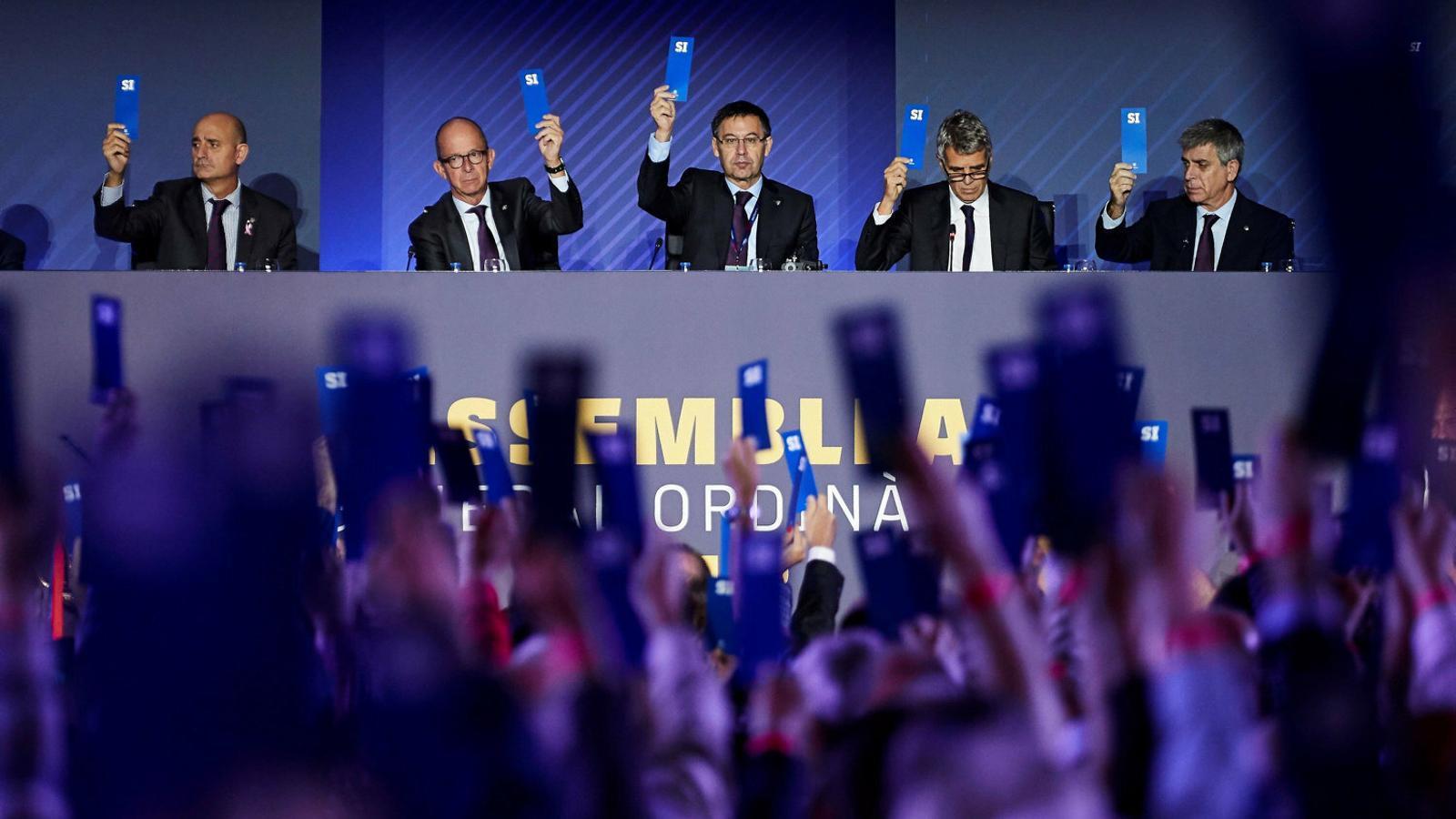 El nou pressupost del Barça es votarà a l'assemblea del pròxim 6 d'octubre.