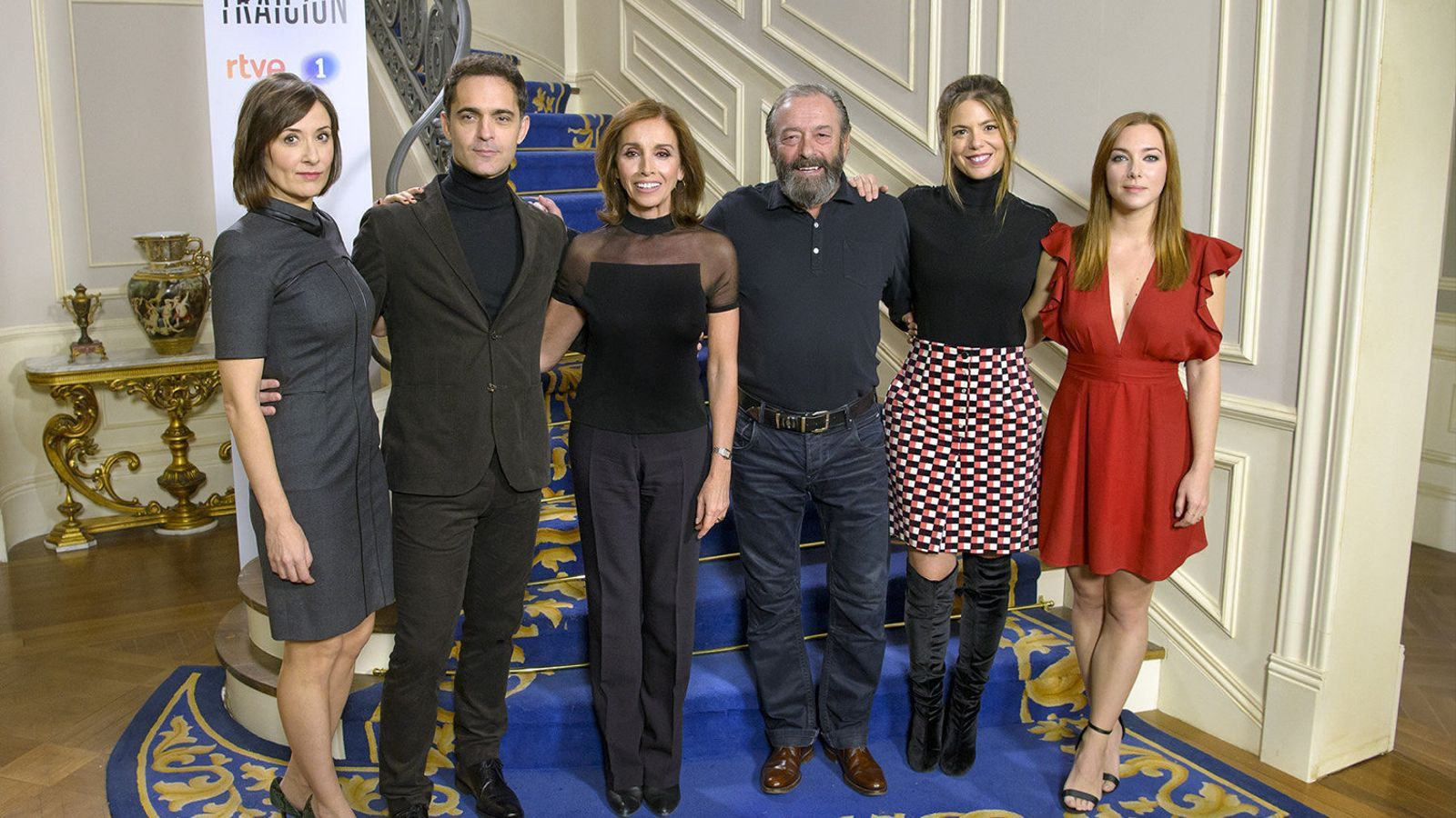 Ana Belén torna a la televisió amb la sèrie de La 1 'Traición'