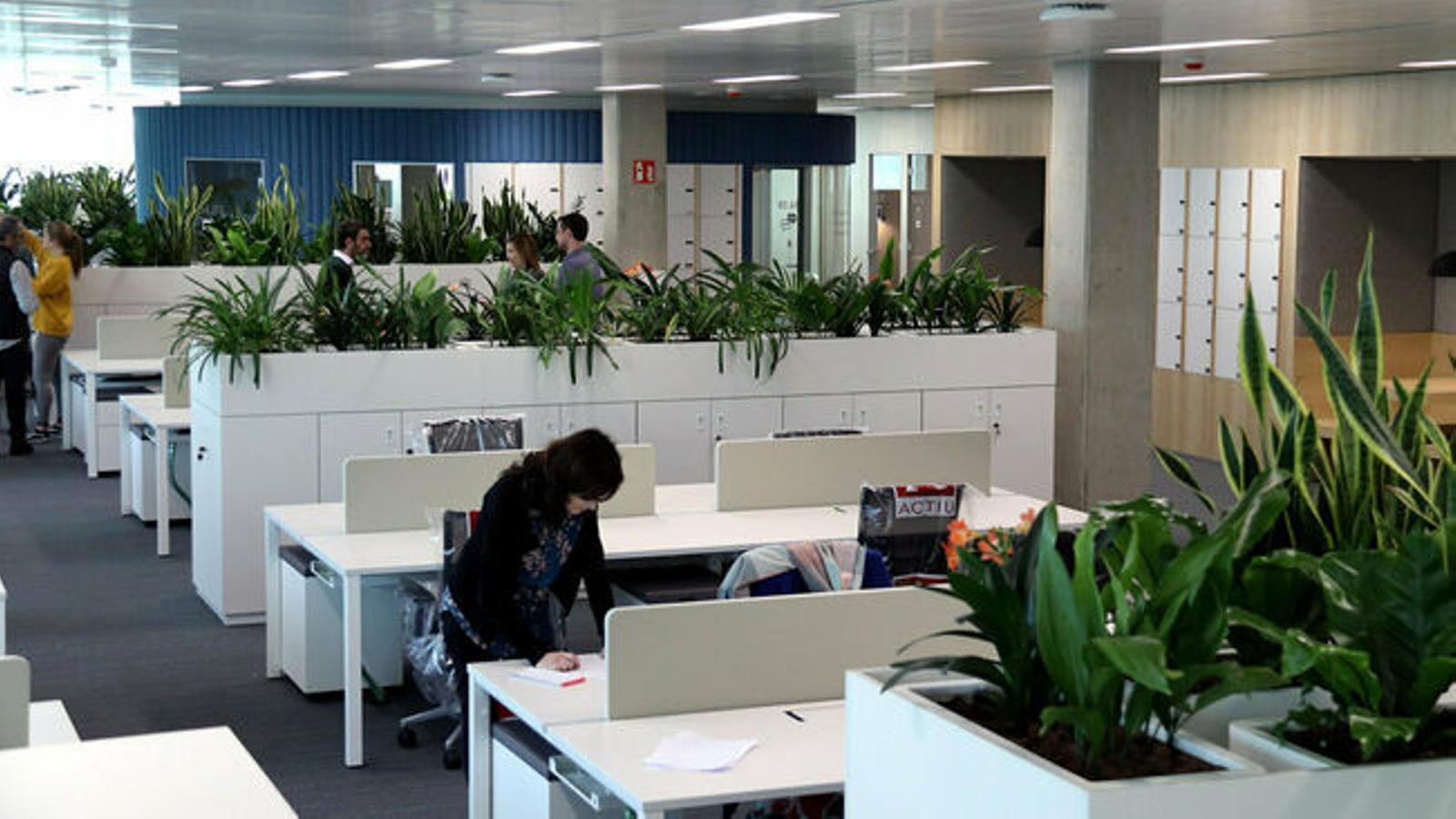 La nova seu de la Generalitat a la Zona Franca