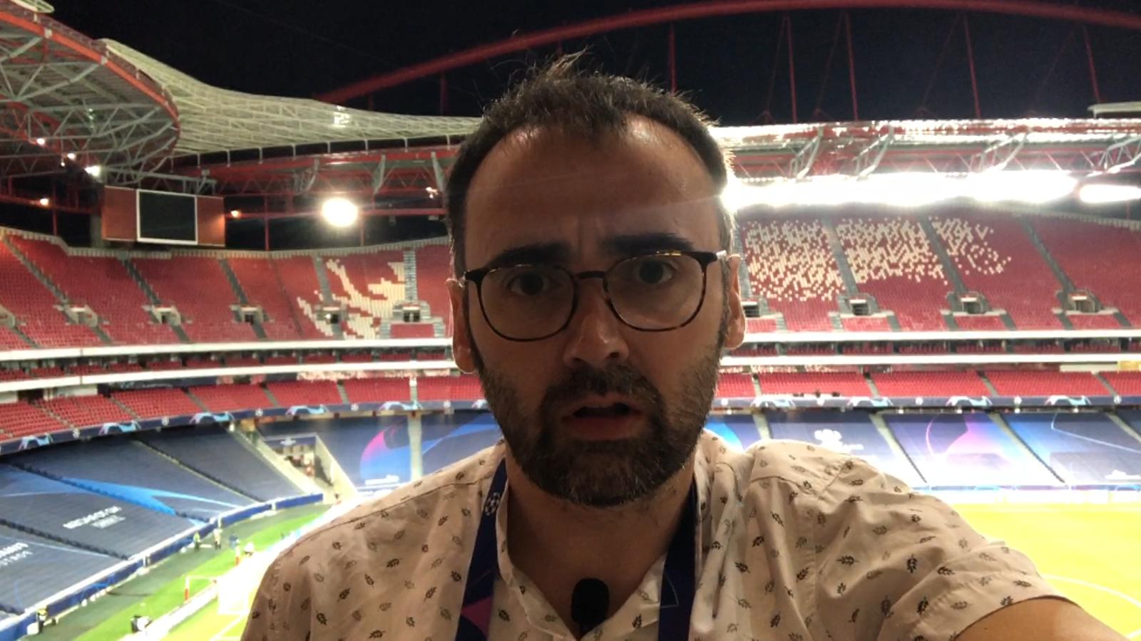 El Barça-Bayern, en un minut