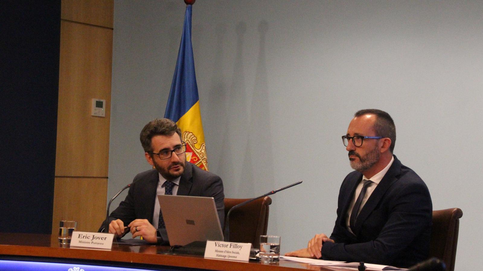 La roda de premsa després del Consell de Ministres. / C. A. (ANA)