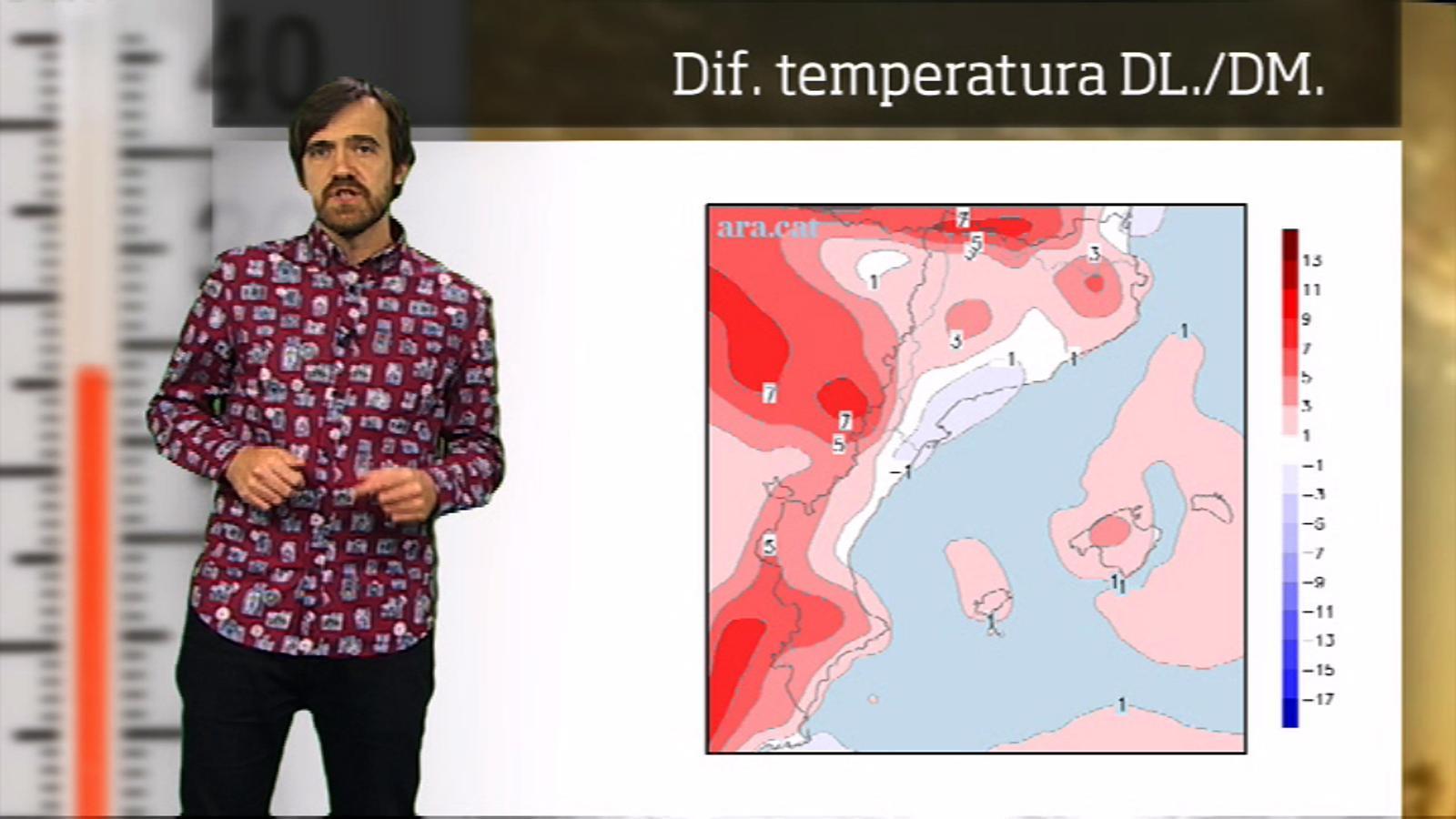 La méteo en 1 minut: setmana amb calor d'estiu
