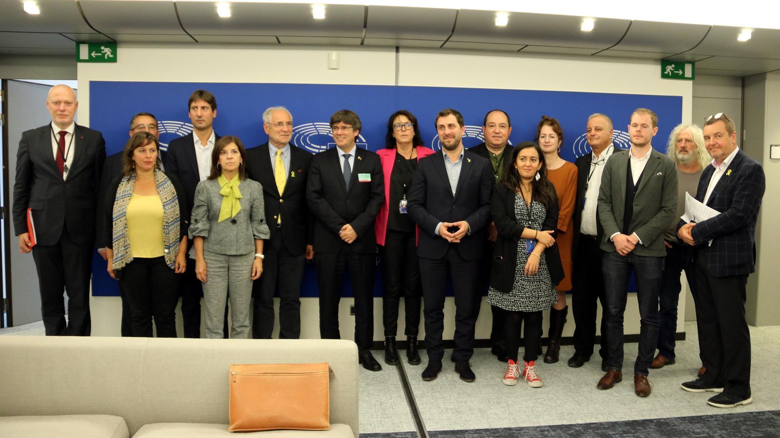 La plataforma d'eurodiputats pel diàleg UE-Catalunya prepara una resposta a la sentència des de l'Eurocambra