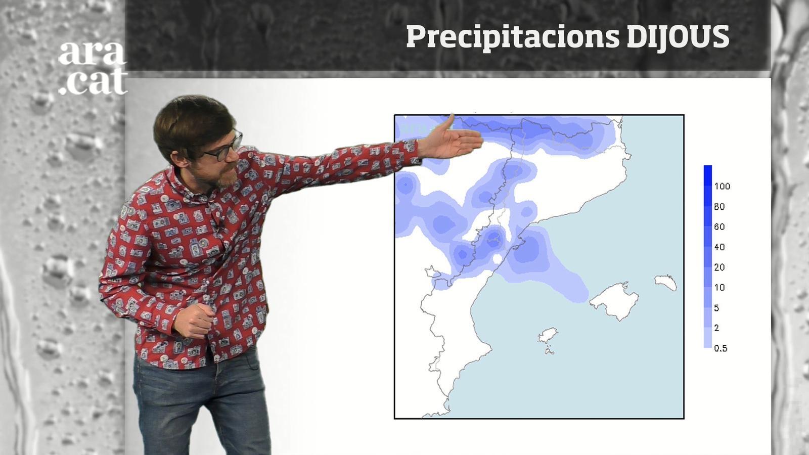 Méteo especial: pluges extenses abans del cap de setmana