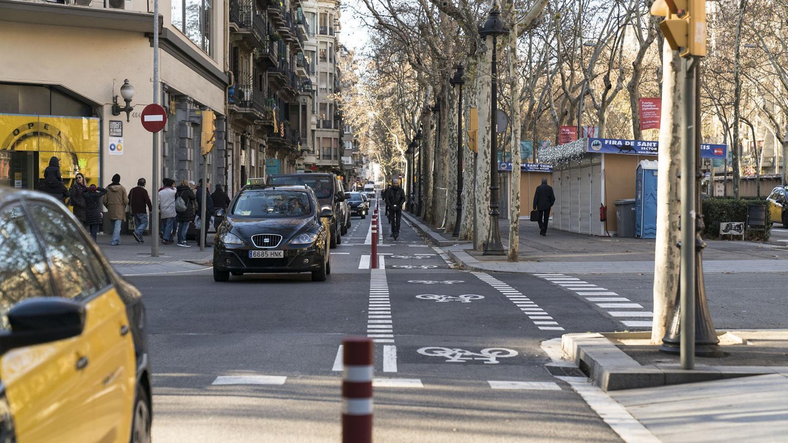 Barcelona s'encamina cap a un model de mobilitat més segura, sostenible i eficient, i cap a una convivència millor